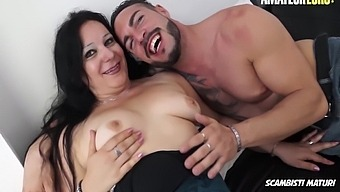 Valentina Bianchi Drilled By Young Lover With Julius