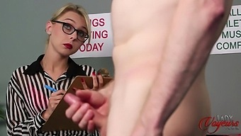 Cfnm Video With An Amateur Guy And Horny Blondie Chloe Toy