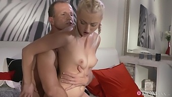 Nice Tits Blondie Katy Rose Undressed And Penetrated By Her Lover