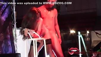 Young Big Tits Tied And Fucked In Public - Miriam Prado