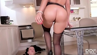 What The Fuck !? My Busty Stepmom Valentina Ricci Riding My Little Cock