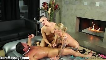 Tommy Gunn Bangs Two Sexy Masseuses Kleio Valentien And Rachael Madori