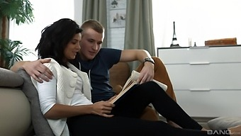 Smooth Fucking On The Sofa With Small Tits Russian Gf Mary Dee