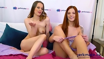Incredible Sex Video Live Show Amateur New Just For You - Scarlett Mae And Jillian Janson