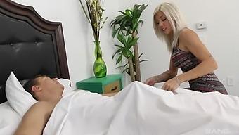 Sweet Blonde Girl Karson Kennedy Moans During Hardcore Fucking