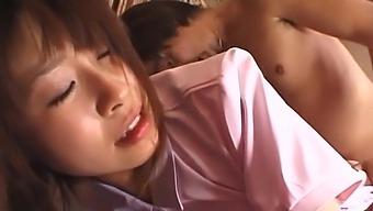 Hot Ass Japanese Nurse Aika Hoshizaki Gets Fucked In Missionary