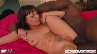 Really Brave White Nympho Dana Dearmond Takes Bbc Into Her Anus