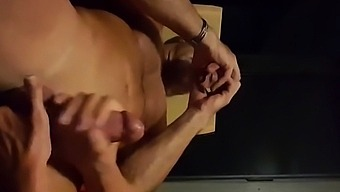 Milking The Prostrate, And Stroking Cock