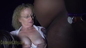 Nasty Milf Cathy Amateur Group Sex Video