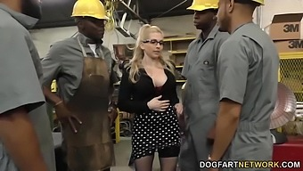 Several Black Guys Fuck Bossy Bitch Christie Stevens In Anus And Pussy