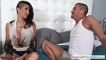 Pretty Horny Brunette Kayla Carrera Just Thirsts For Riding Sloppy Cock