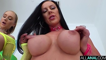 All Anal Patti And Gwen'S Double Anal Getdown