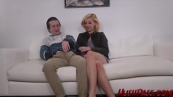 Brick Danger Cannot Wait To Plow His Cock Into Pretty Blonde Haley