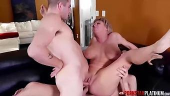 Pornstarplatinum Busty Milf Dee Williams Threesome Fucked