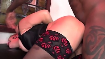 Busty Milf Ryan Keely Takes Bbcs In Front Of A Cuckold