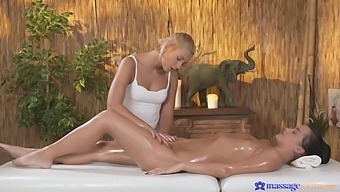 Hot Ass Brunette Erica Black Massaged And Licked By A Sexy Blondie