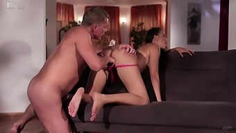 Hot Ass Model Casey Jordan Moans With Pleasure During Passionate Sex