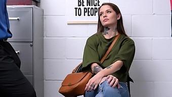 Tattooed Milf Vanessa Vega Is A Shoplifter