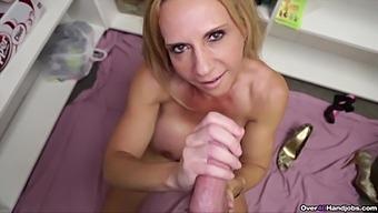 Mature Broad Brooke Tyler Gives A Terrifically Taboo Handjob