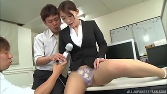 Nothing Pleases Hot Kashii Ria As Getting Her Wet Pussy Plowed