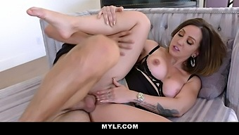 Spanish Elder Woman Betty Foxxx Makes A Pass At Stepson While Husband Is On A Business Trip