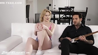 Teen Tells Stepdad That Her Moms Cheating So They Can Fuck With Small Hands And Chloe Cherry