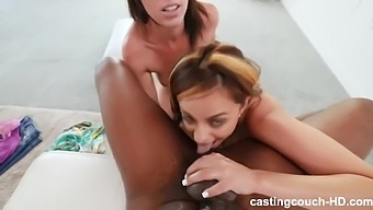 Nola And Riley-Creampie Eaten From Pawgs
