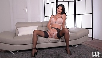 Playing With Knockers And Toys - Jasmine Jae