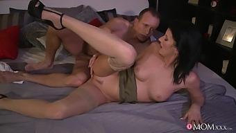 Desirable Brunette Mature Celine Noiret Loves Having Passionate Sex