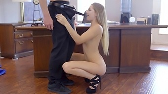 Gorgeous Sydney Cole Loves Playing With A Friend'S Stiff Shaft