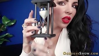 Goddess Alexandra Snow - Timed Knockers Task