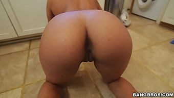 Naughty Maid Priya Prince Drops On Her Knees To Blow For Money