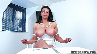 Busty Mature Danica Collins Drops Her Clothes To Tease With Her Cunt