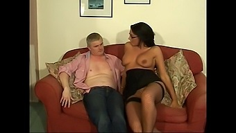 Smoking Hot Emma Butt Gets Talked Into Bouncing On A Stiff Shaft