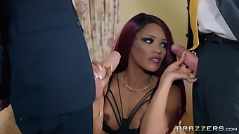 Dominating Redhead Wife Cuckolds Hubby! - Kiki Minaj And Danny D