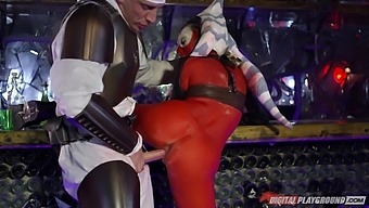 Slutty Nympho Aria Alexander Meets Time Traveler By Sucking His Cock