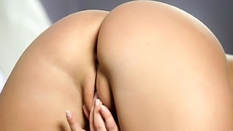 Adorable Blondie Marry Queen Plays With Her Round Tits And Wet Pussy
