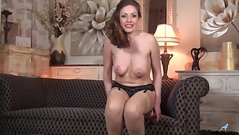 Foxy Mature Sophia Delane Moans While Fingering Her Wet Pussy