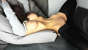 Busty Petite Babe Is Reaching Orgasm