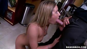 Hot Ass Pornstar Sheena Shaw Enjoys Getting Fucked In The Butt