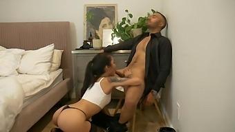 Fucking Hot Submissive Asian - Avery Black