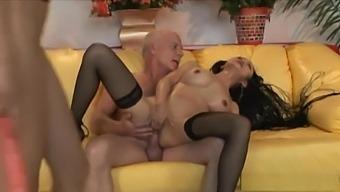 Crazy Pornstars Layla Rivera And Ange Venus In Fabulous Swallow, Latina Adult Scene