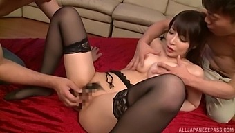 Video Of Stunning Sakurai Aya Getting Fucked By Two Lucky Guys