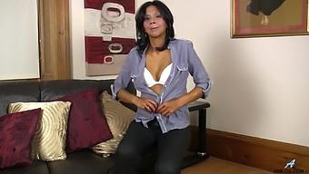 Small Tits Ebony Mature Sophia Smith Moans While Masturbating