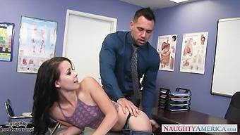 Goody-Goody Alaina Kristar Has An Affair With Handsome Teacher Johnny Castle
