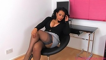 Video Of Horny Milf Danica Collins Playing With Her Wet Cunt