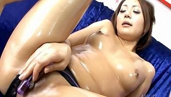 Sweet Japanese Solo Girl You Spreads Her Legs To Finger Her Wet Slit