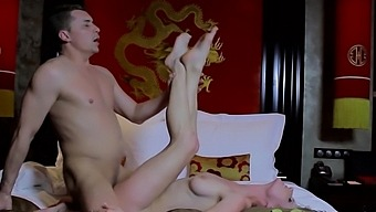 Dong Riding By Inviting Blonde Sweetheart Lina Napoli