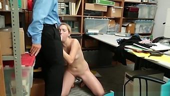 Shoplifting Gal Babe Zoe Gets Fucked