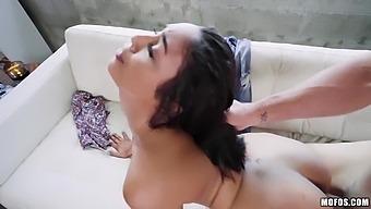 Baldie J Mac Licks Anus And Pussy Of Sexy Girlfriend Vanessa Sky